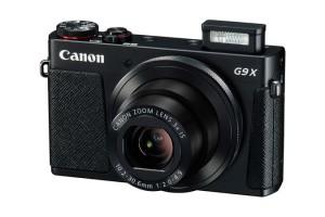 "Canon PowerShot G9 X - Digital Camera - 20,2 MP CMOS 28 mm-84 mm - Display: 7,62 cm/1"" TFT - Black"