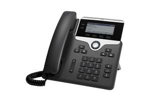 Cisco 7821 Handset met snoer 2regels Zwart - Zilver IP telefoon
