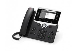 Cisco 8811 Handset met snoer LCD Zwart IP telefoon