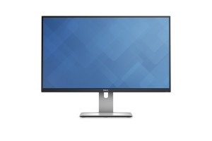 "Dell UltraSharp U2715H 27"" Wide Quad HD IPS Mat Zwart - Zilver computer monitor"